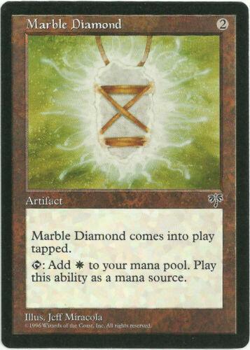 1x Marble Diamond Mirage MTG Magic LP