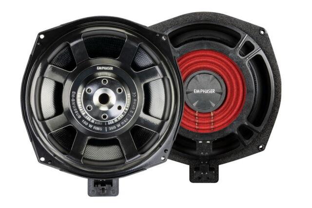 For BMW 6er E63 E64 EMPHASER Under Seat Bass Speaker Subwoofer Woofer