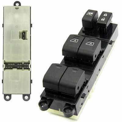 Left Master Power Window Control Switch Driver Side for 07-12 Nissan Pathfind