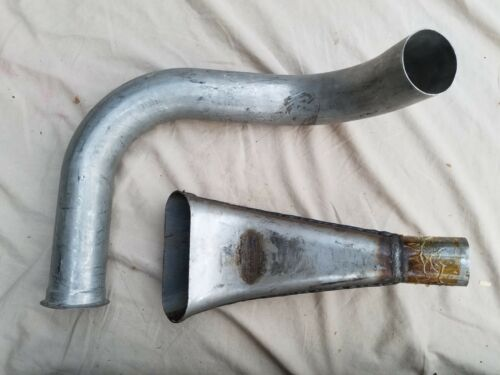 6x6 Gamma Gama Goat Exhaust Kit Muffler and Tailpipes M792 N.O.S