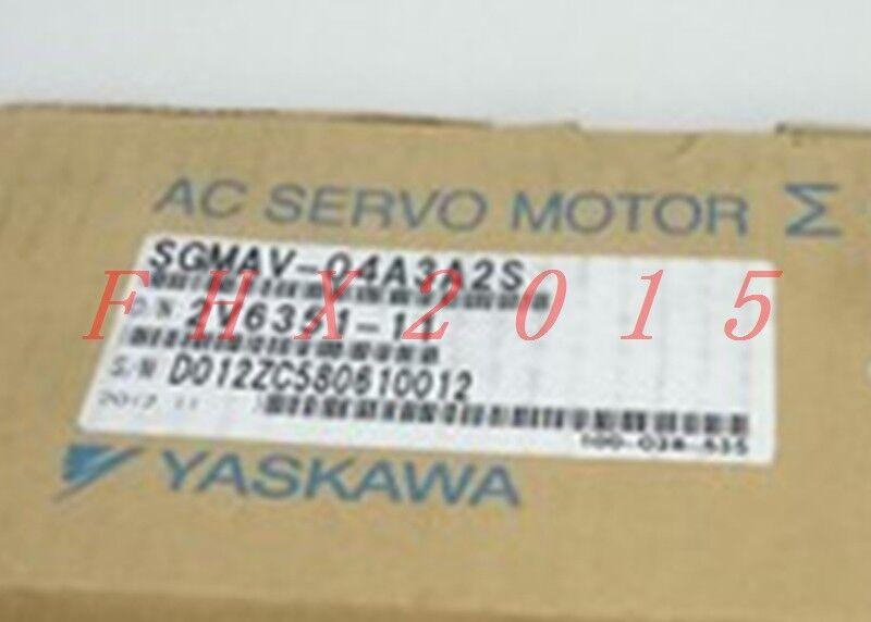 Una Nueva Servo Servo Servo motor yaskawa sgmav - 04A3A2S c8a83f