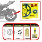 DID 375416000 Kit Trasmissione per Ducati Multistrada 1100S 2009-1100CC - Oro