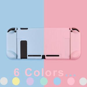 Kawai-Solid-Color-Hard-Case-Cover-for-Nintendo-Switch-Console-Jon-Cons-6-Colors