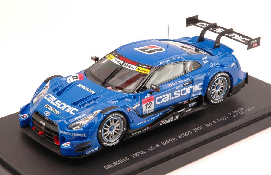 NISSAN GT-R  12 3rd rd.4 Fuji 2015 SUPER gt500 Yoshihiro/Oliveira 1:43 Model