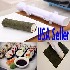 Perfect Sushi Roll Maker Kit Rice Roller Mold Mould Chef Kitchen DIY SET- USA SE
