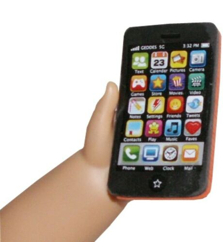 """Android Smart Cell Phone Sized for 15-18/"""" American Girl /& Bitty Baby Size Doll"""