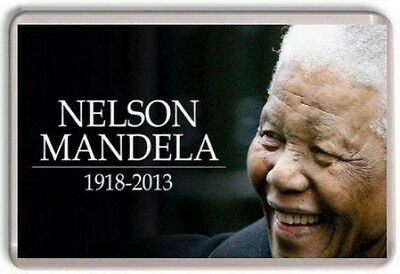 Nelson Mandela Fridge Magnet 01