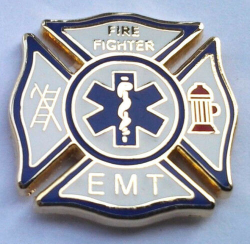 Hero Hat Pin P06257 EE SMALL EMT FIRE FIGHTER
