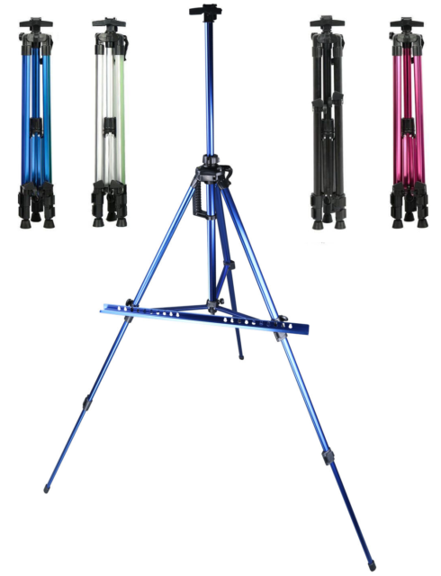 Deluxe Artist Tripod Easel 156cm Adjustable Canvas Table Painting Display Field