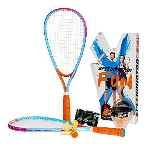 Speedminton 4 Player Fun Rackets Set Outdoor Badminton Beach and Backyard  Game   eBay - Speedminton 4 Player Fun Rackets Set Outdoor Badminton Beach And