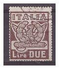 REGNO 1923 - MARCIA SU ROMA Lire 2 USATO