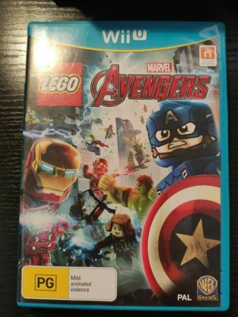 LEGO MARVEL AVENGERS - NINTENDO WIIU WII U Complete with manual