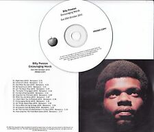 BILLY PRESTON Encouraging Words 2010 UK Apple remastered 16-track promo test CD
