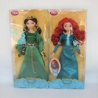 Disney Store Original Princess Merida Queen Elinor Clasic Doll Brave Movie