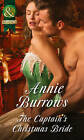 The Captain's Christmas Bride by Annie Burrows (Paperback, 2015)