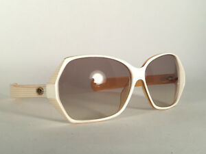 df1b831e7a327 Image is loading VINTAGE-CHRISTIAN-DIOR-2117-WHITE-YELLOW-OVERSIZED -SUNGLASSES-