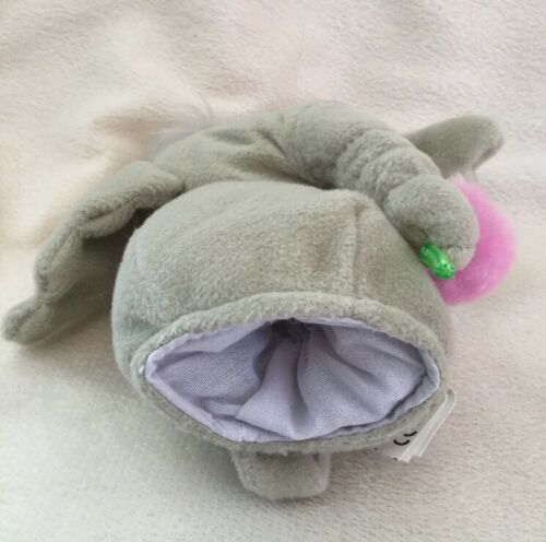 "Seuss Horton Hears A Who Elephant Plush Finger Puppet 5/"" Book Buddy Stuffed Dr"
