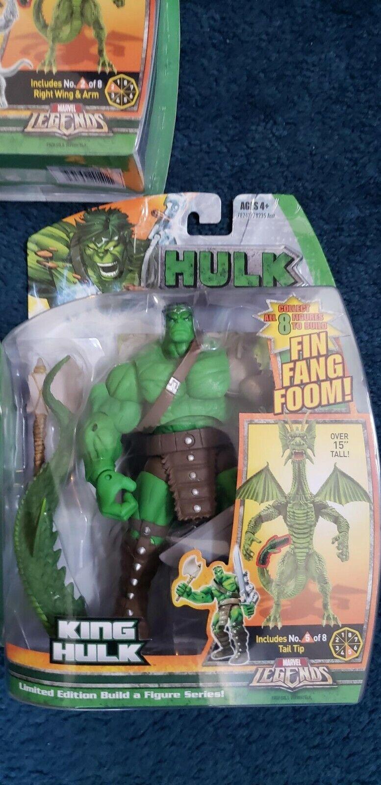 Marvel leggendeclasseic HulkFIN FANG presero BAF HULK SERIE cifra SIGILLATO