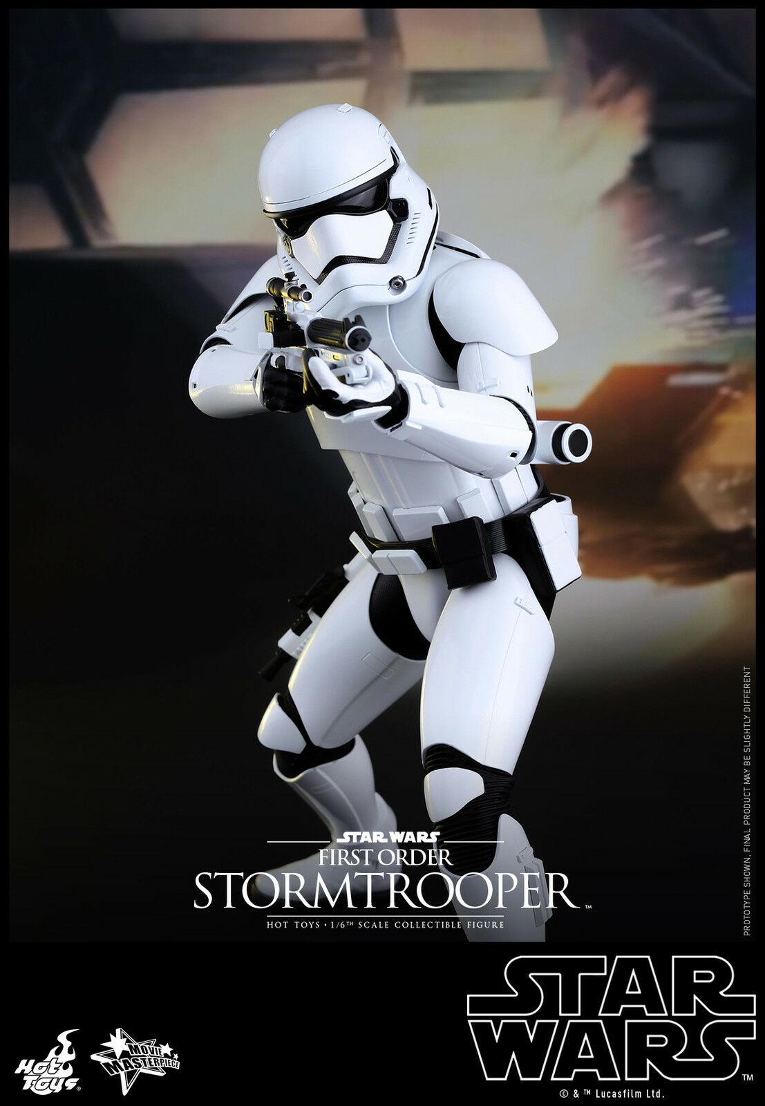 STAR WARS THE FORCE AWAKENS: FIRST ORDER STORMTROOPER 1:6 SCALE FIGURE HOT TOYS