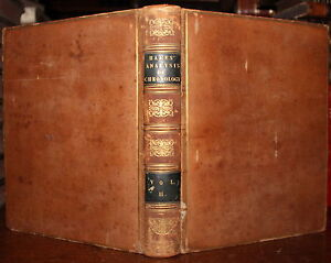 1811-William-HALES-Analysis-of-Chronology-of-the-BIBLE-Vol-2-Book-1-ONLY-of-Four