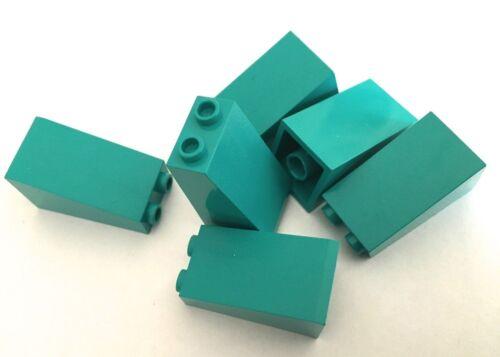 LEGO 2x2x3 slope 75º bricks Packs of 6 part 3684 Choose your colour!