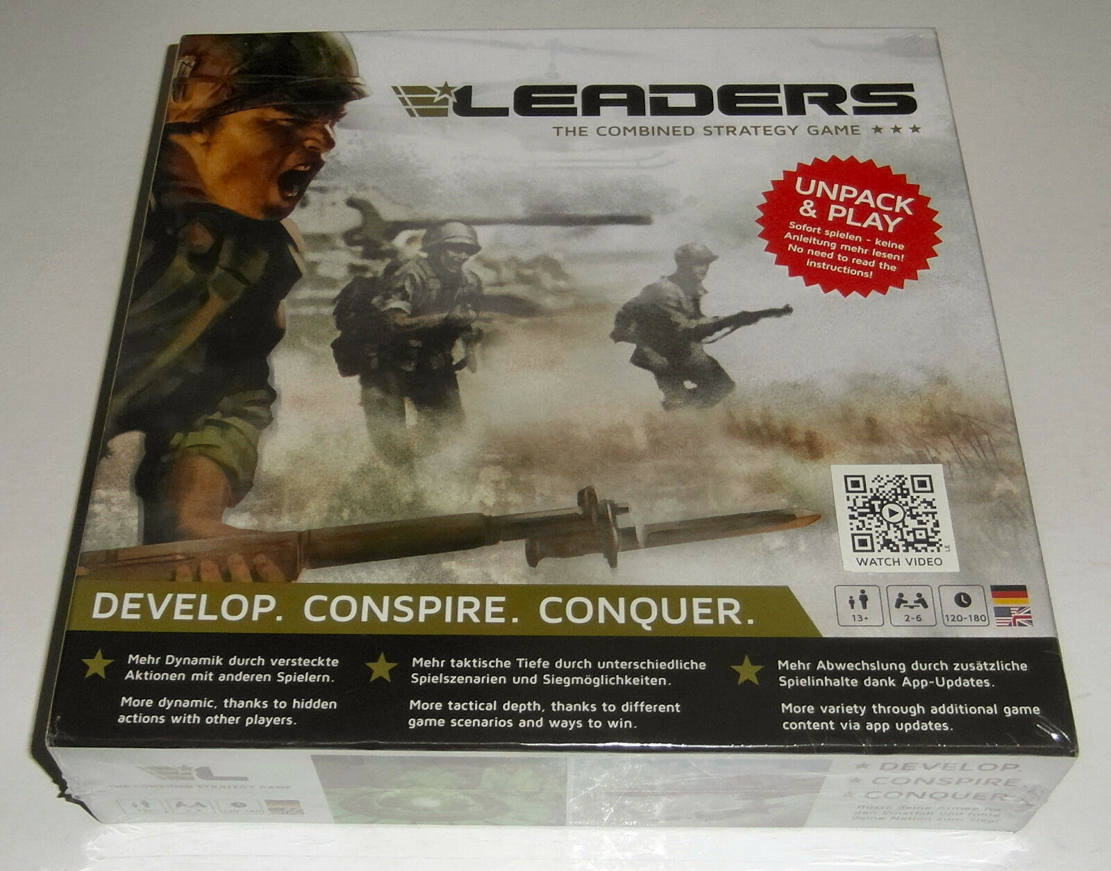 Leaders  Board game and APP - Rudy Games GmbH - 2013