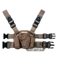 Tactical Serpa Sportster Cqc Right Drop Leg Holster For Sauer P220 P226 P229