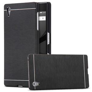 Luxury-brush-color-slim-hard-aluminum-metal-case-cover-for-sony-xperia-z3-z4-z5