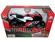 MAISTO 32226IT WORLD CYCLE SERIES DUCATI BIKE MOTORCYCLE 1/6 ITALY