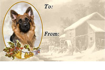 German Shepherd//Alsatian Key Ring By Starprint No 8