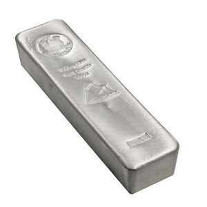 Münzbarren Fiji 5 Kilo 5000 Gramm Silber Argor Heraeus 999,9er Silberbarren 2015