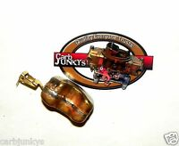 Brass Float Rochester 2 Gv Carburetor 2 Bbl 1958 - 72 Chevy Jeep Pontiac