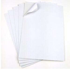 10St-A4-Doppelseitige-Schaum-Klebeband-Sheet-Sponge-Blaetter-DIY-Bastel-Material