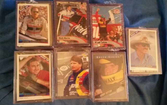 NASCAR Auto Racing Trading Card LOT of 875 CARDS 1996 SEALED Fairfield Company