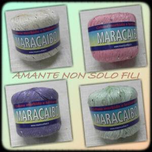 Cotone Con Paillettes Maracaibo By Misstricotfilati Gomitolo Da 50