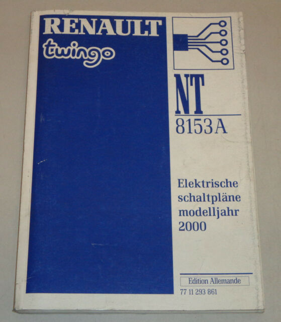 Workshop Manual Elektik Wiring Diagrams Renault Twingo