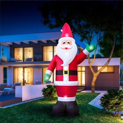 Giant 6m Inflatable Greeting Santa