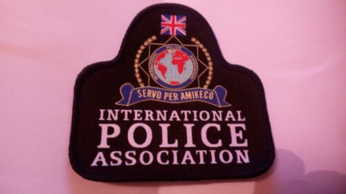 British IPA International Police Association Bell Patch UK New and Rare