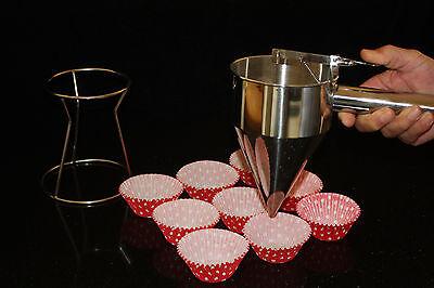 Cake Mix Dispenser, Metal Baking Tool