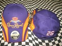 Jamie Mcmurray 26 Crown Royal Pit 2007 Nascar Hat By Chase Authentics 27h