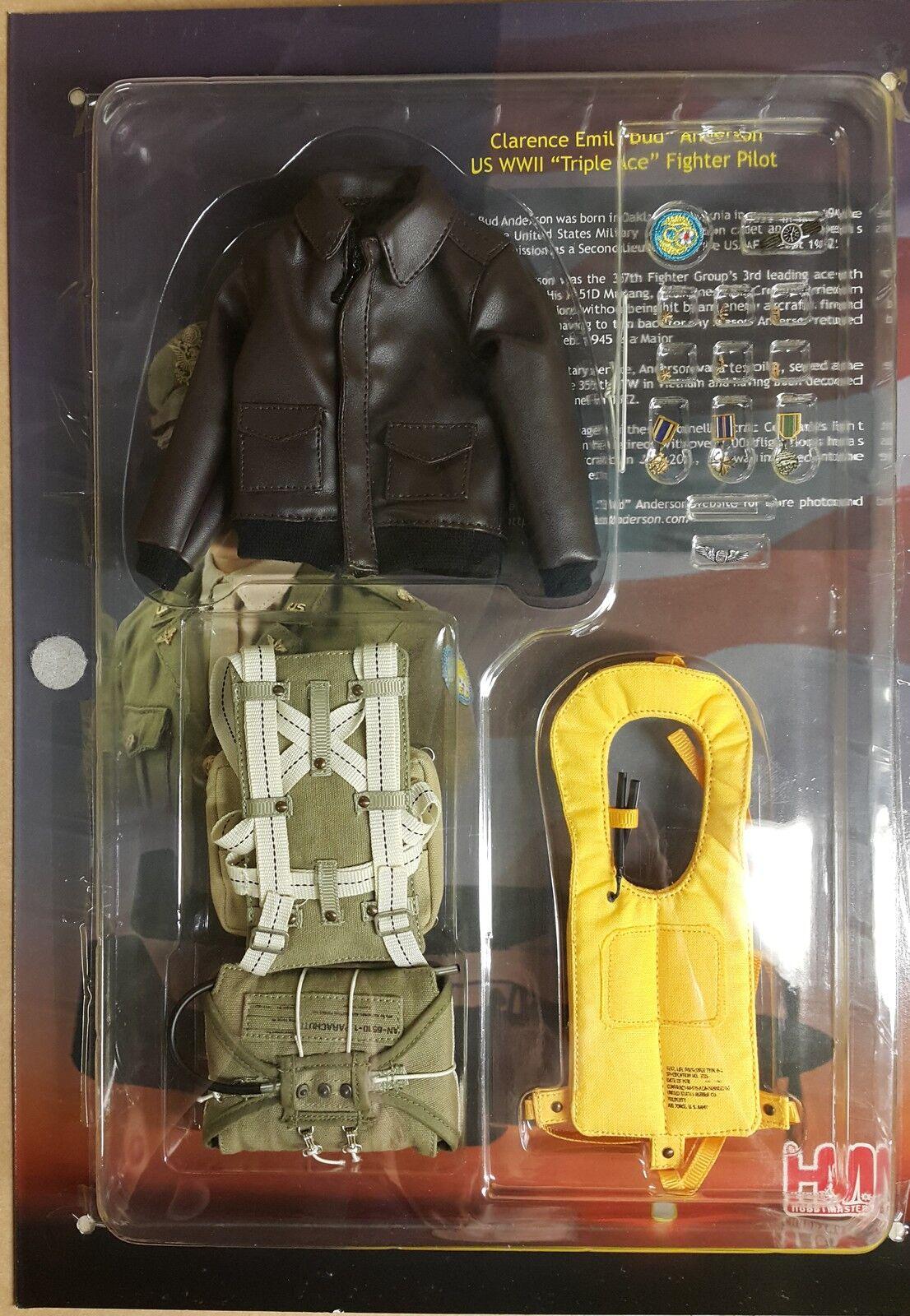 Figurine Aviateur Pilote Avion Seconde Guerre Guerre Guerre Mondiale Colonel Anderson 30 cm 16f02d