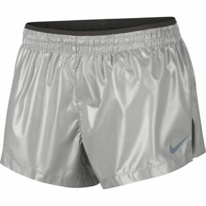 Details About Bnwt Wmns Nike Elevate Metallic Feminino Running Shorts 100 Auth Ar2025 095