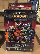World Of Warcraft Miniatures Game Core Set  Booster Box For WoW TCG