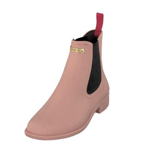Gosch Shoes Sylt Damen Schuhe Gummi Chelsea Stiefel 7105-310-631 Hortensie NEU