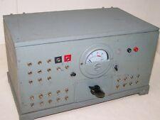 antiguo DDR Medidor Fabricación propia interesante con transformador Tabla