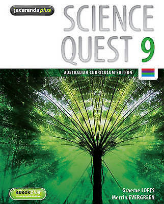 1 of 1 - Science Quest 9 Australian Curriculum Edition and EBookPLUS by Merrin J....