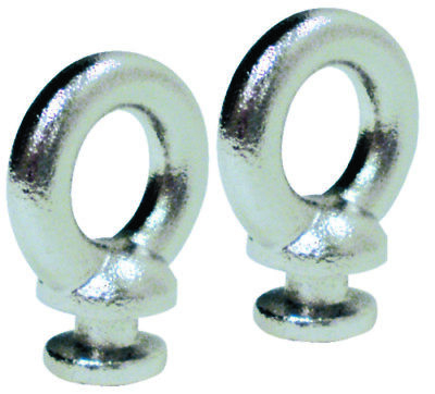 2 pack Replacement Stainless Steel Fender Lock Eyes for Boats SEACHOICE 30131