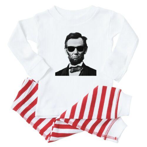 CafePress COOL LINCOLN Baby Toddler Pajama Striped Pants Set 353264600
