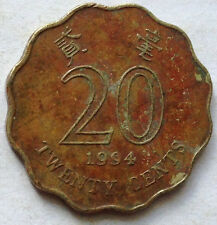 Hong Kong 20 cents 1994 coin