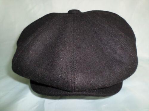 GENTS PEAKED NEWSBOY BAKER BOY GATSBY CAP 61 CM 7 /& 1//2 XL CHOICE OF 4 COLOURS